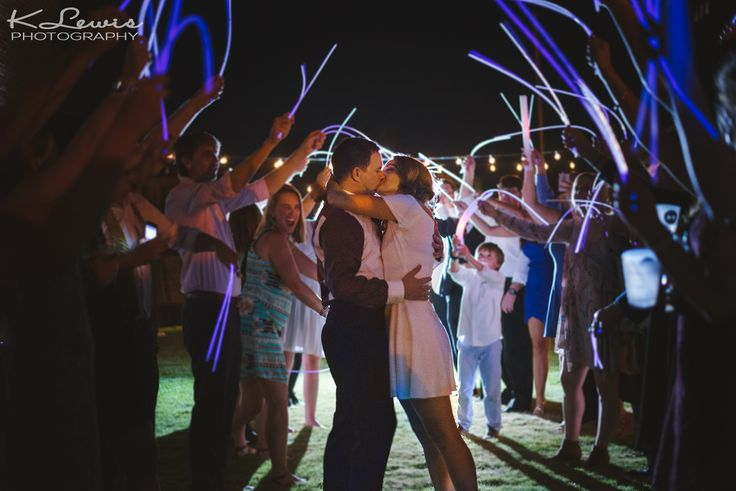 Can't have a sparkler exit because of venue policy? No worries, do a glow stick send off. Get our Let Love Glow Sign right here.