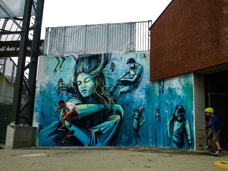 ALICE PASQUINI  .. 'We all swim in the same waters' ..  [Hamburg, Germany 2016]