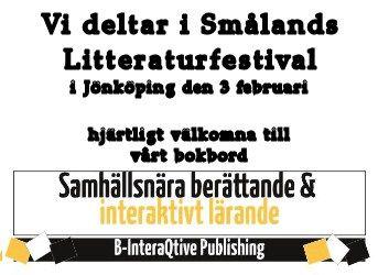 Hjärtligt välkomna till vårt bokbord i SmåLit i Jönköping