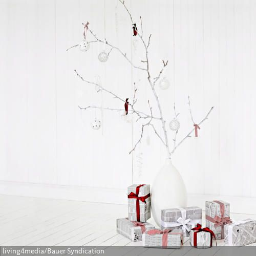 ber ideen zu moderne weihnachtsdekoration auf. Black Bedroom Furniture Sets. Home Design Ideas