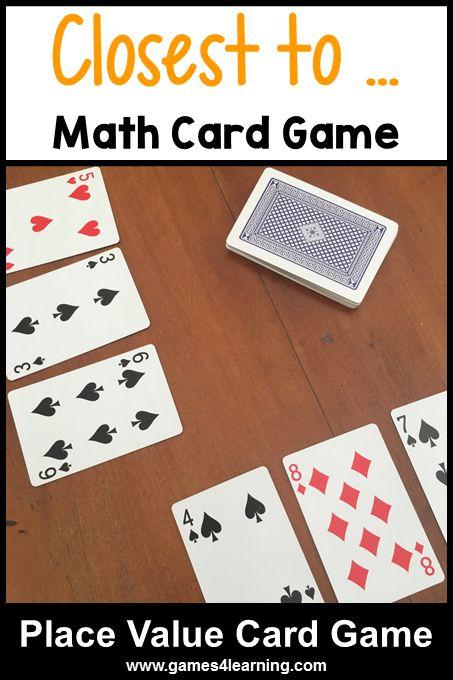 math card games easy math card games for kids using