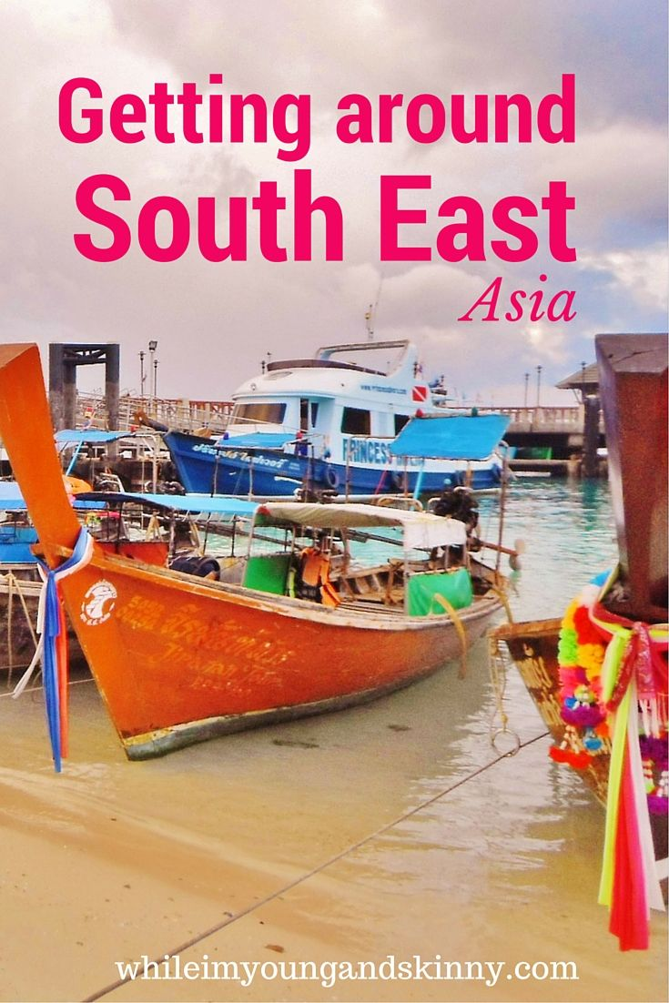 Transport in South East Asia - how many have you been on?
