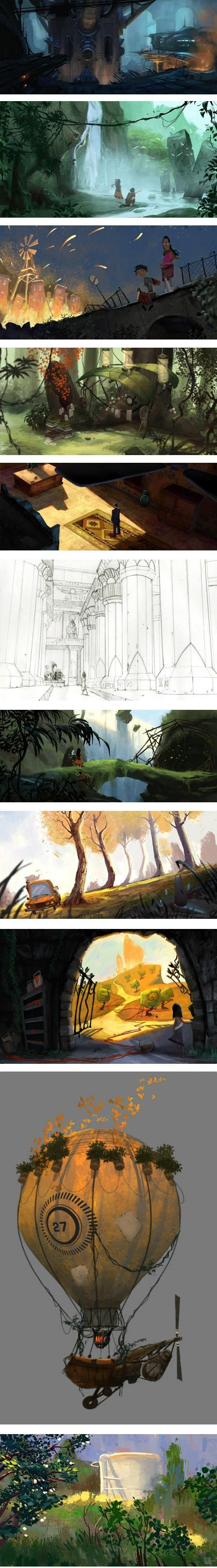 Erik D. Martin is a visual development artist based in Los Angeles and currently working for Disney Interactive.: