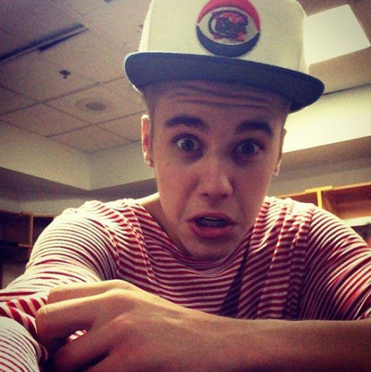 One Of Justin Bieber's Worst Selfies
