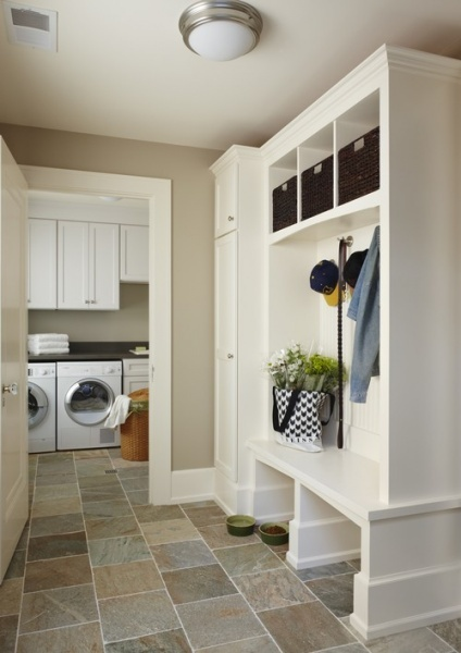 Mudrooms - The Solution for Messy Winter Boots on Clippings