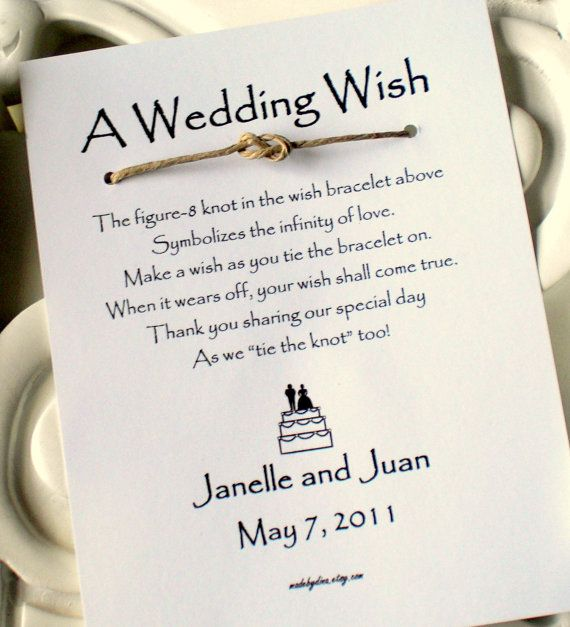 cute and simple wedding favor