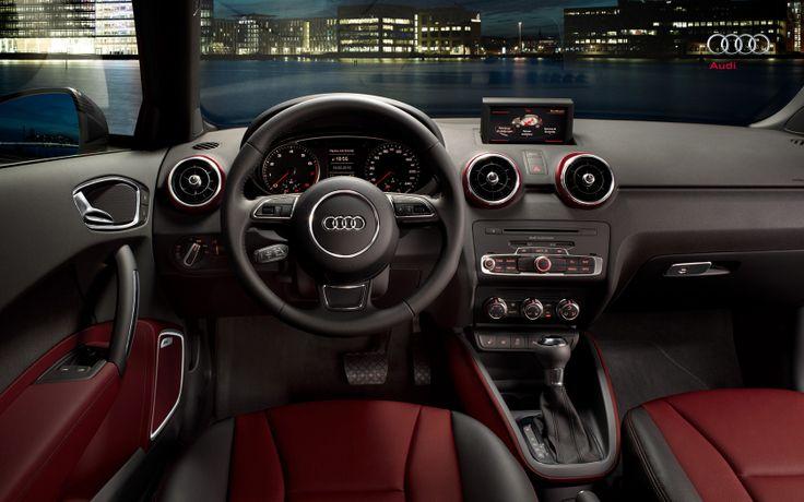#AudiA1 #Audi #red #interior