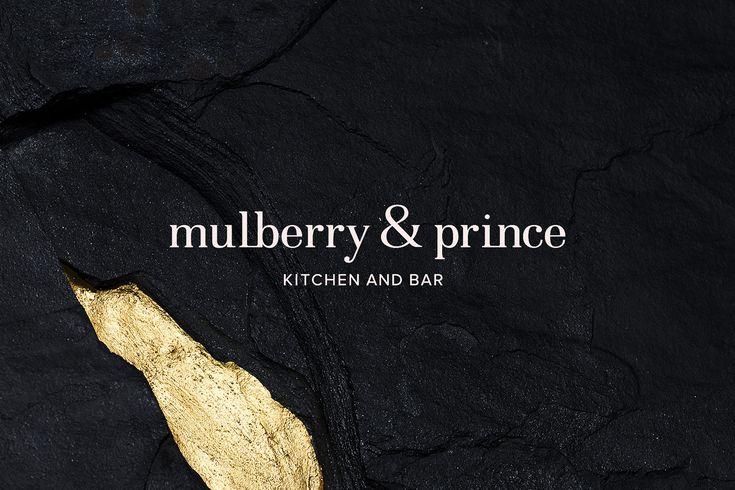 """다음 @Behance 프로젝트 확인: """"Mulberry & Prince Restaurant"""" https://www.behance.net/gallery/37371845/Mulberry-Prince-Restaurant"""