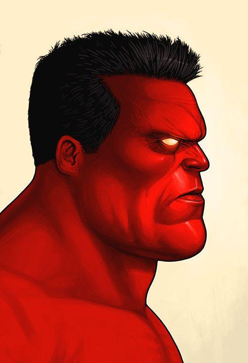 Red Hulk – Mondo