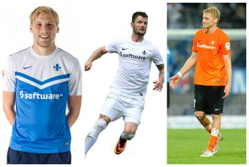 SV Darmstadt 98 2014/15 Nike Home, Away and Third Kits