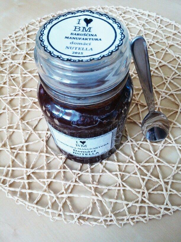 Domácí Nutella bez zbytečného palmoveho oleje a cukru