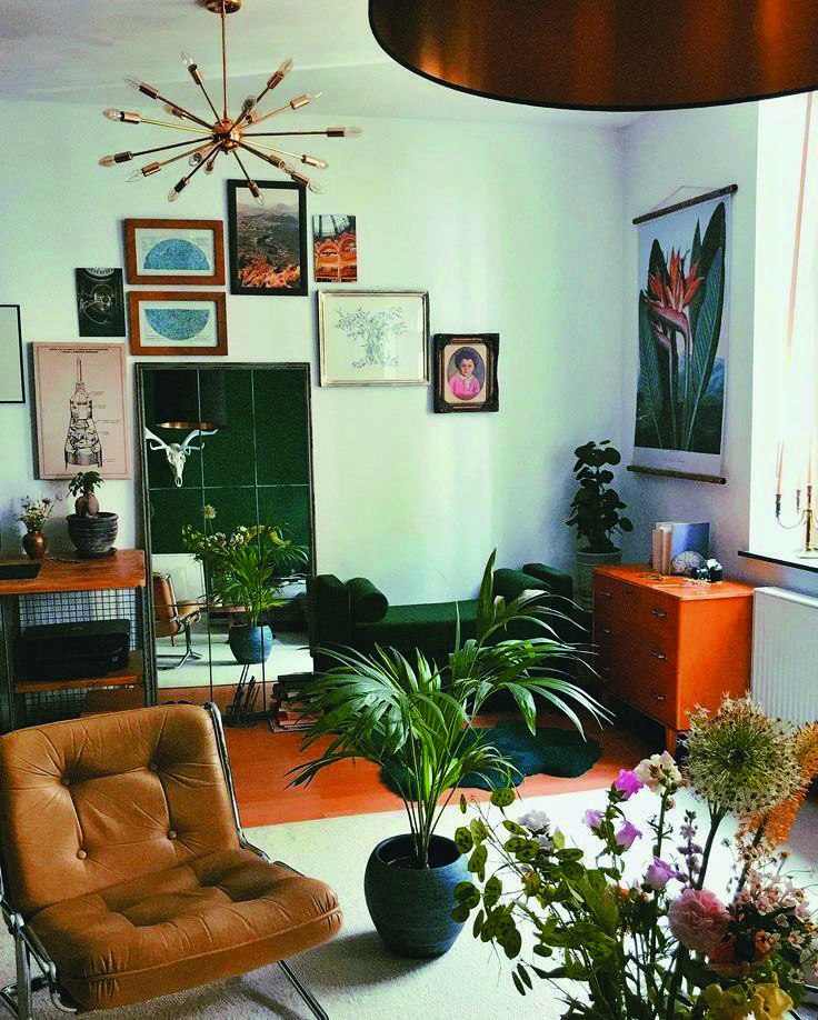 19 Boho Living Room Ideas | Mid century modern living room design ...