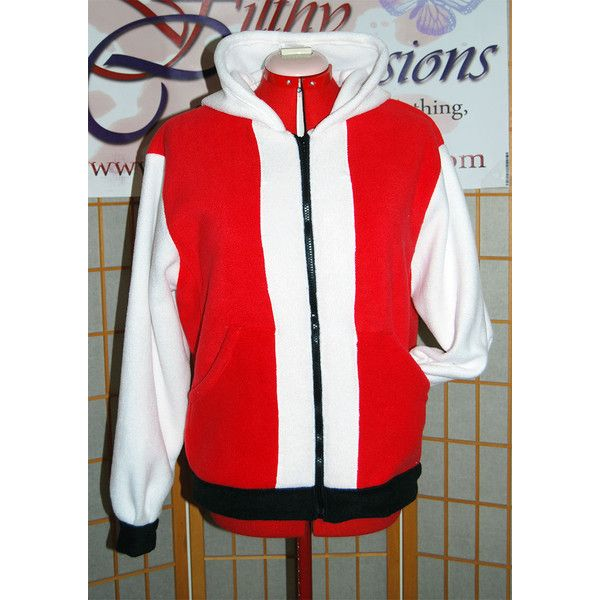 Pokemon Trainer Red Hoodie ($70) ❤ liked on Polyvore featuring tops, hoodies, grey, sweatshirts, women's clothing, red hooded sweatshirt, fleece sweatshirt, gray zip up hoodie, zip up hooded sweatshirt and zip up hoodie