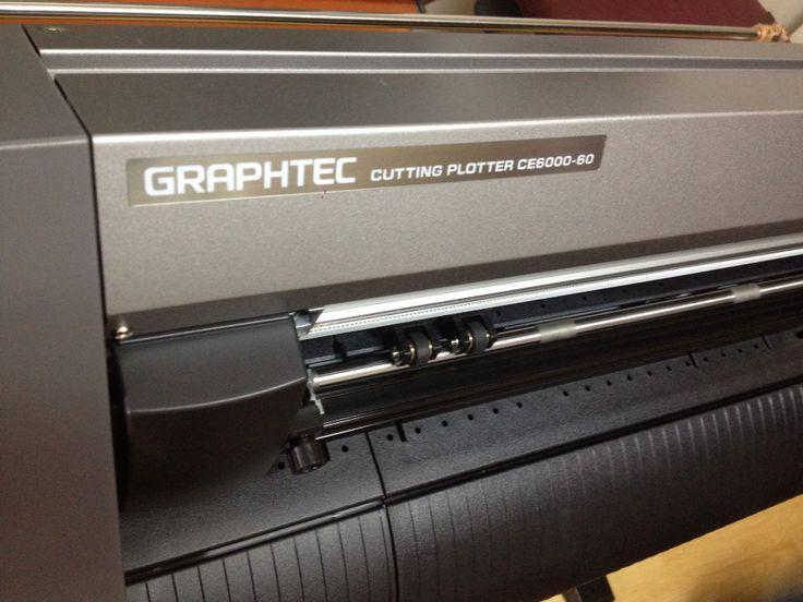 Graphtec plotter corte de vinyl :)