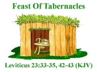 Feast of Tabernacles Leviticus 23:33-35 42-43