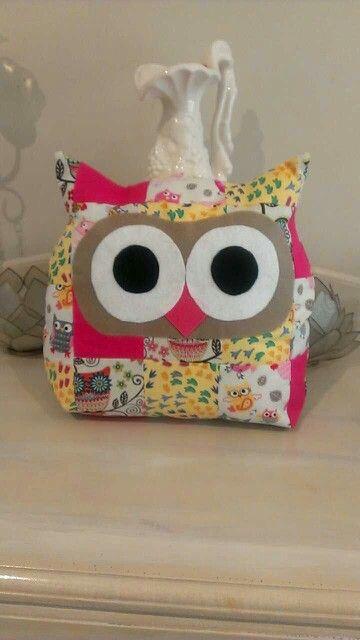 My 1st owl cushion