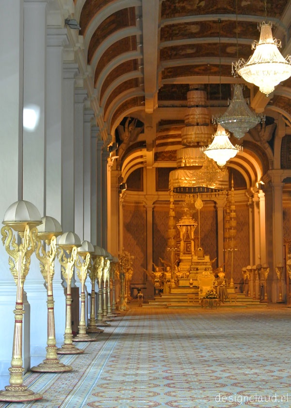 Royal Palace Of Phnom Penh Khmer Architecture T Http