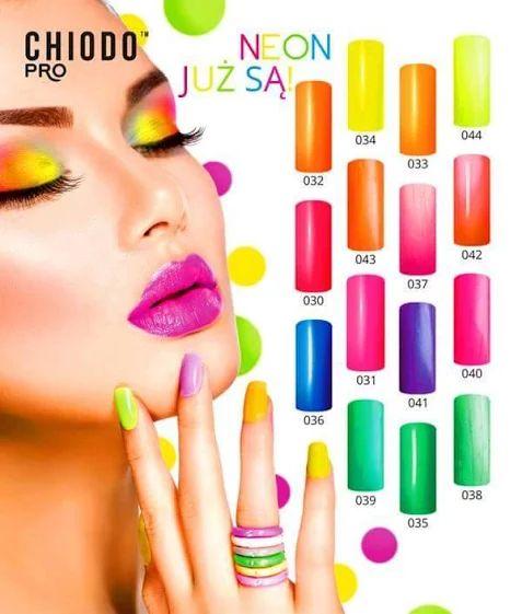 #neon #neonowe #paznokcie #kolorowe #lato #wakacje #nails www.chiodopro.pl