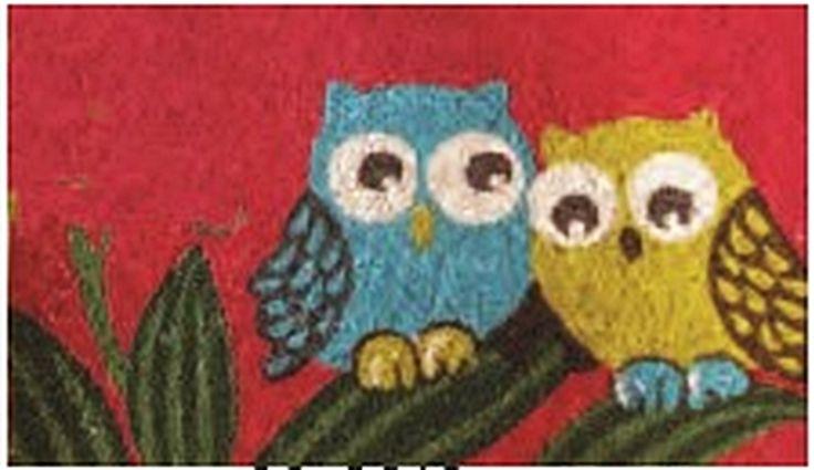 The Gecko Shack - Owl Pair coir fibre door mat 75cm, $29.95 (http://www.geckoshack.com.au/owl-pair-coir-fibre-door-mat-75cm/)
