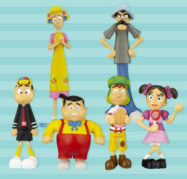 Complete Figure Collection (El Chavo, Quico, Popis, Don Ramon, Ñoño & Doña Florinda)  #elchapulincolorado #elchavostore #chespirito #robertogomez #elchavo #elchavodelocho #elchavodel8 #toy #juguete