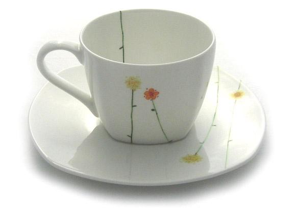 Ansley Daisy Chain Bone China Cup and Saucer  sc 1 st  Pinterest & 54 best A Spot of Tea Pots images on Pinterest | Tea pots Porcelain ...