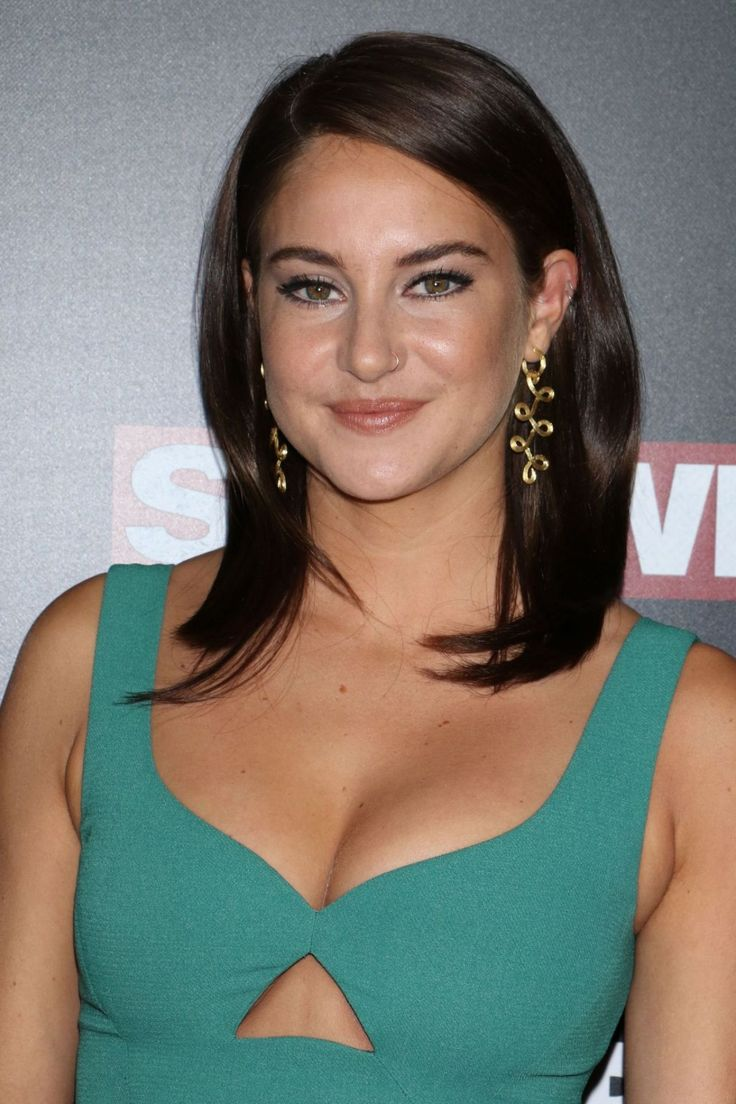"""SHAILENE WOODLEY:  . """"I have no idea who that is, I'm sorry."""" —Shailene Woodley, when asked to do her best Kylie Jenner selfie face at a red carpet interview for Divergent"""