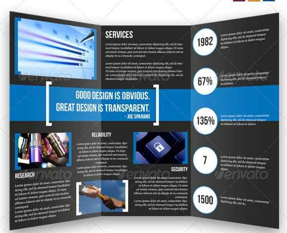 15 Premium Tri Fold Brochure Templates Graphic Elements