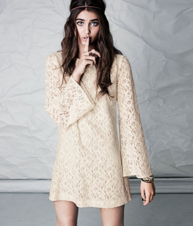 lace and sleeves