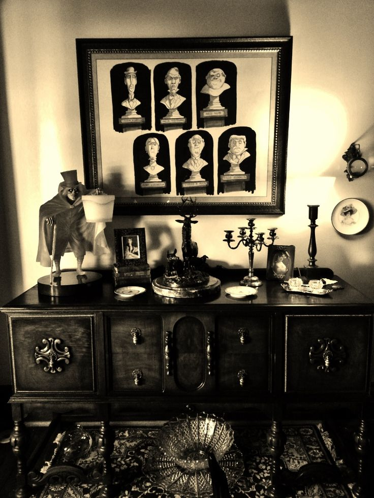 Haunted Mansion Home Decor: 269 Best Images About Haunted Mansion On Pinterest