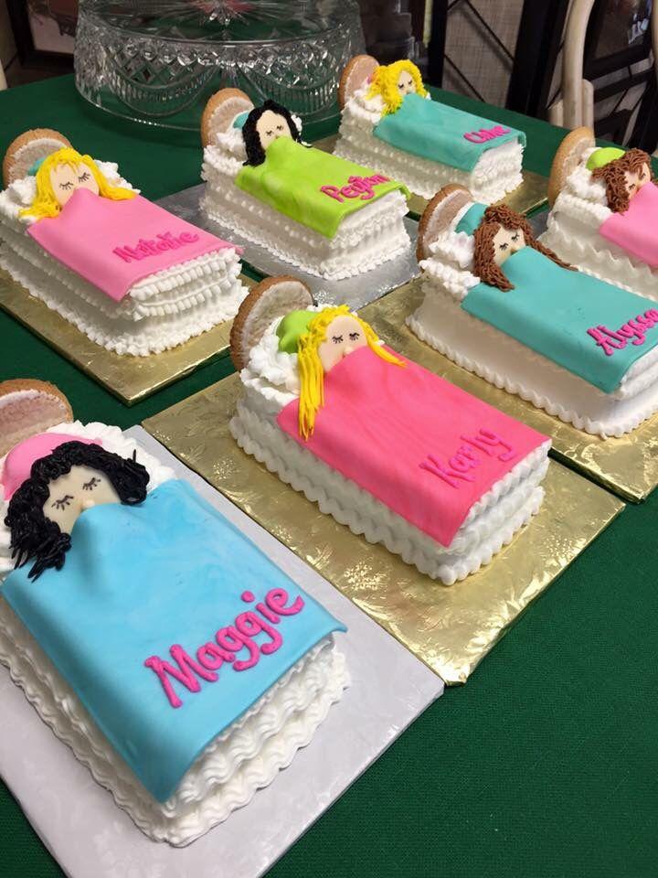 Sleepover cakes
