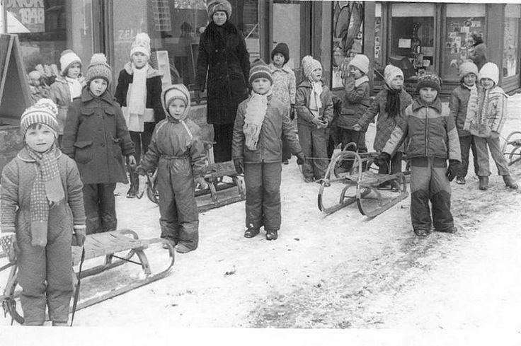 Zima 70 -80 roky