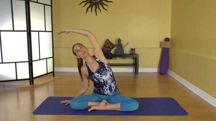 Cours de Yoga anti-stress de 15 minutes avec MARYSE LEHOUX.