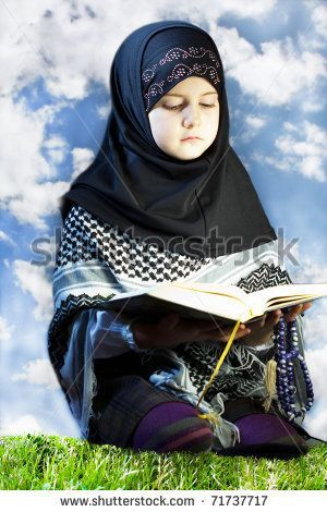 gods children praying | praying children images | Little Muslim Girl Praying - Reading Holly ...