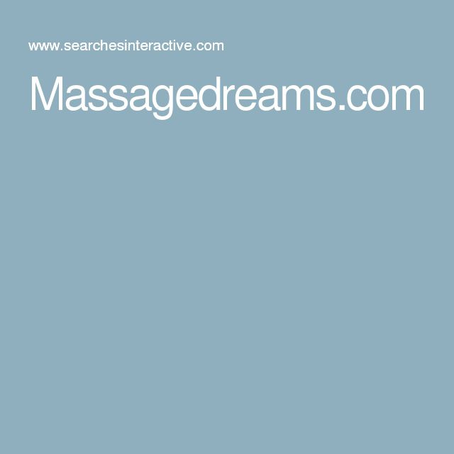Massagedreams.com
