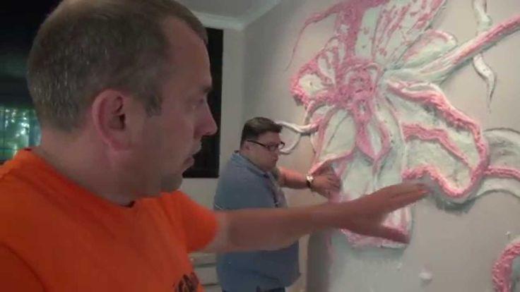 Секрет отделки стен  Барельеф , Мастер класс от Алексея Пименова клип - ...