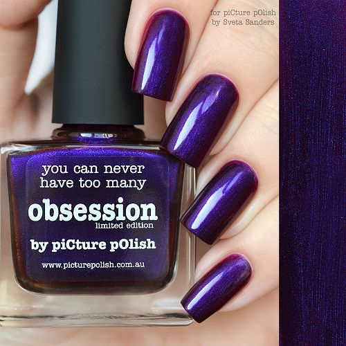 piCture pOlish : Picture Polish Obsession LE Shop here- www.color4nails.com Worldwide shipping available