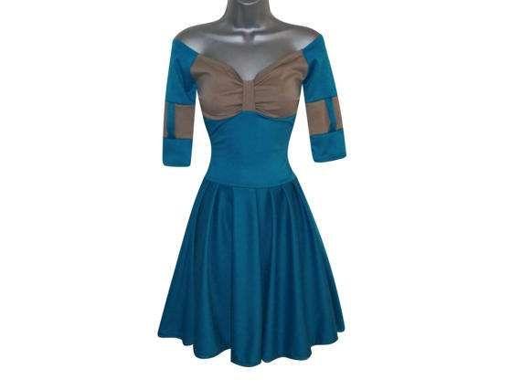 Adult Princess Merida Brave Fancy Disneybound Dress CosPlay