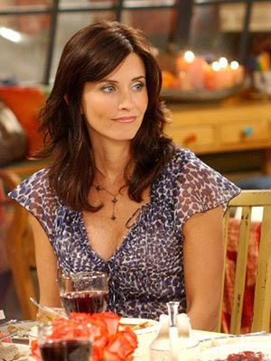 Courntey Cox from Friends