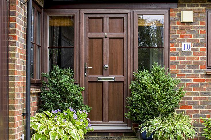 85 best front doors images on pinterest for French door back door
