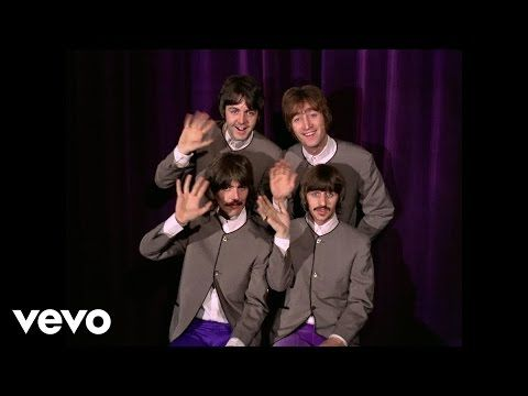 The Beatles - I Want To Hold Your Hand - Performed Live On The Ed Sullivan Show 2/9/64 - YouTube