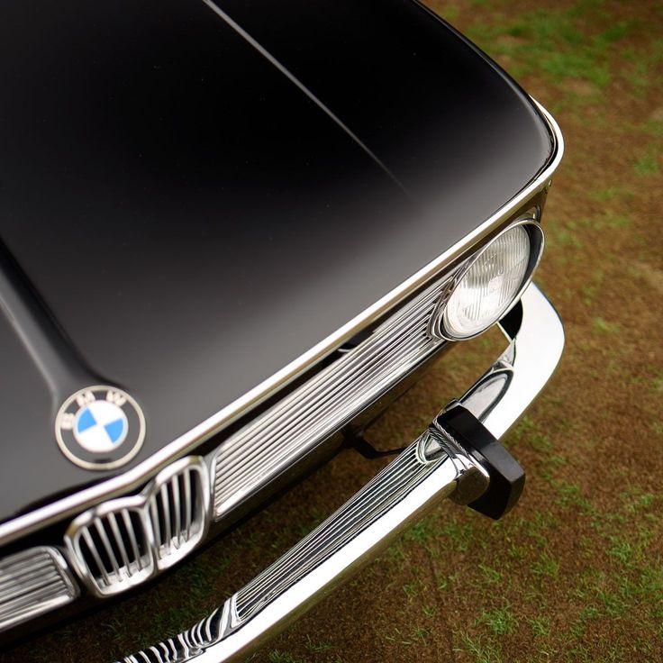 Compact executive. BMW 1600-2. #bmwvintagecars