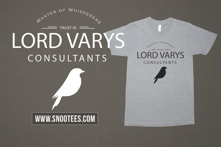 Lord Varys Consultants T-Shirt #Tee #T-Shirt #Tshirt - Game of Thrones #GameofThrones #GoTSeason6 #lordvarys #GoT