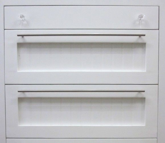 How to build drawer fronts - these are from her amazing closet makeover that you've got to check out if you haven't seen it yet!