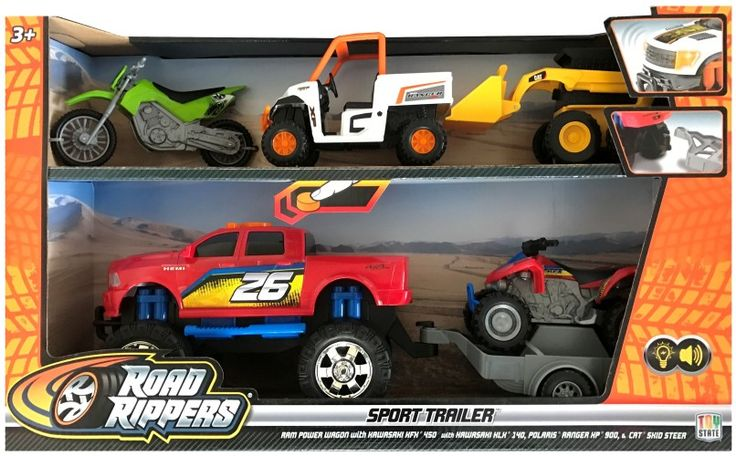 Ram Power Wagon Road Rippers Toy State  Ram Power Wagon Road Rippers Toy State  EUR 30.95  Meer informatie