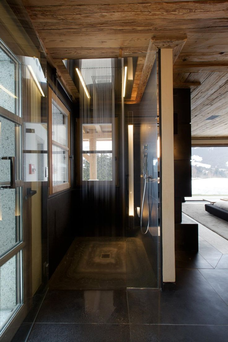 So Cool !! French interior architecture studio Bo Design has completed the interior of the Chalet Cyanella, a new luxury chalet located in Megève, French Alps.