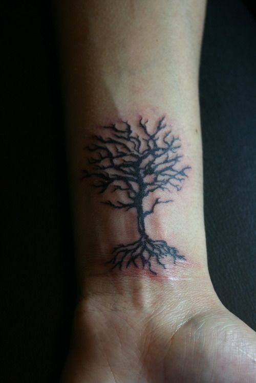 The 36 best dead tree tattoos images on pinterest dead for Dead tree tattoos