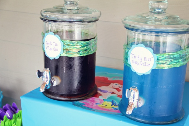 Mermaid Party - Sweet Tea from the Sea and