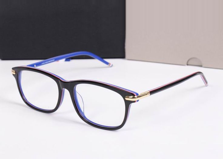 2017 Men Women Optical acetate round Square Thom Browne tb812 TB-812 Myopia Reading Eye glasses Frame Eyeglasses Frame Oculus