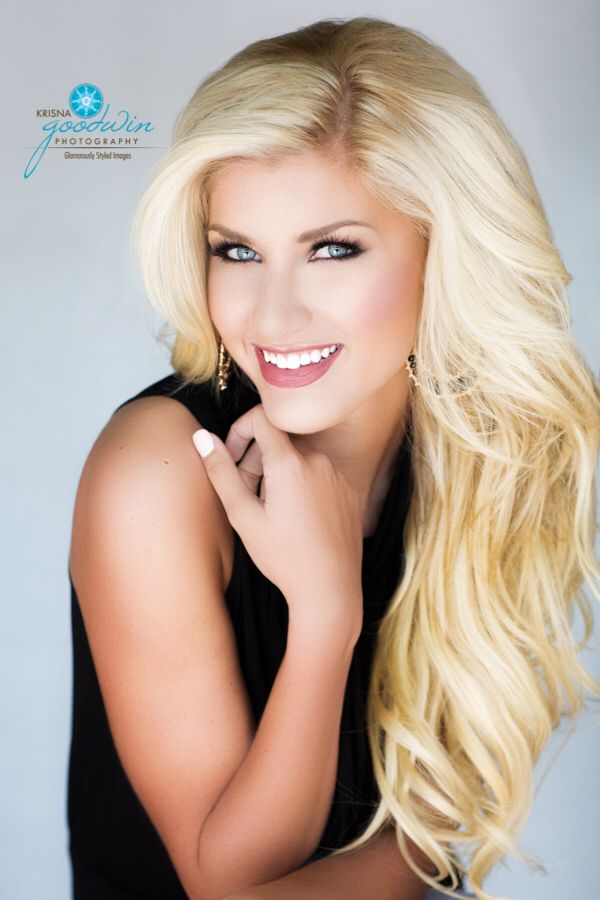 Pageant headshot Miss Smokey mountains Miss Tennessee