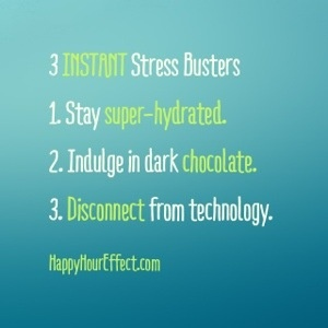 3 Instant Stress Busters
